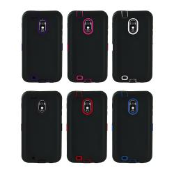 Samsung Galaxy S II Epic 4G Touch D710 (Sprint) Silicone Armor Hybrid Case
