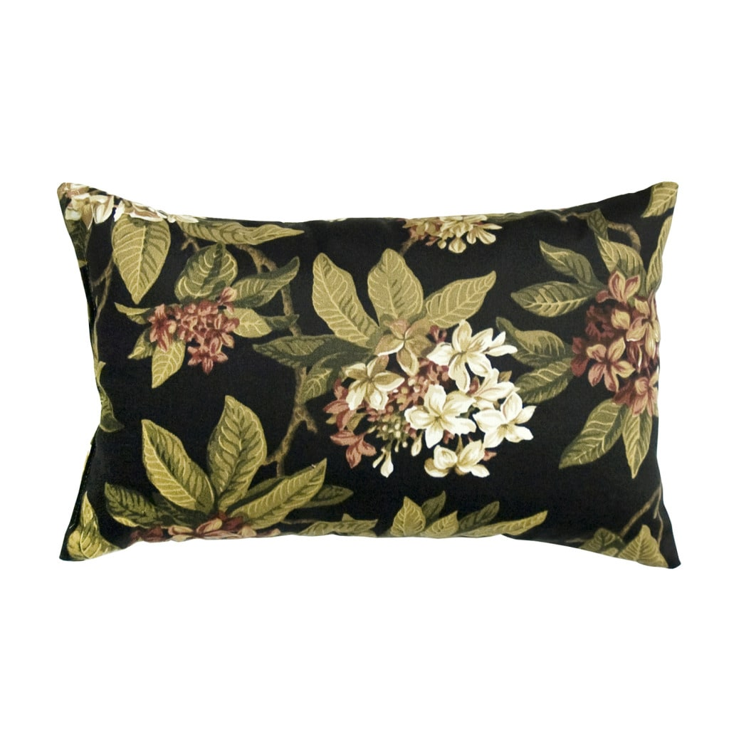 Moonflower Rectangle Outdoor Accent Pillows (Set of 2)