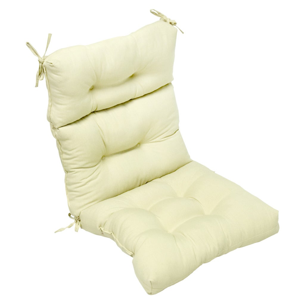 Outdoor Beige High Back Chair Cushion Overstock Shopping B