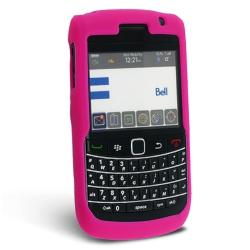 BasAcc Silicone Skin Case for Blackberry Bold 9700, Hot Pink