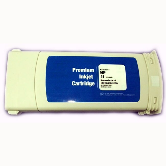 HP 91 Yellow Ink Cartridge (Remanufactured)