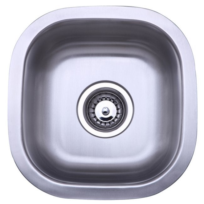 Stainless Steel 13.5-inch Undermount Kitchen Sink