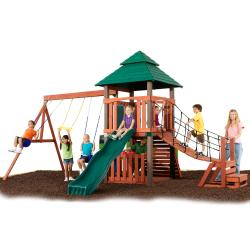 Swing-N-Slide Sherwood Tower Complete Wood Swing Set