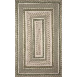 Ombre Sage Wool Rug (8' x 10')