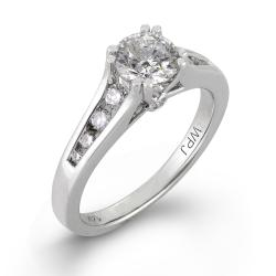 14k White Gold 1ct TDW Round Diamond Engagement Ring (H-I, I1)