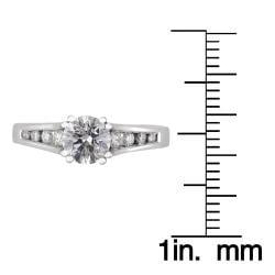 14k White Gold 1ct TDW Round Diamond Engagement Ring (H-I, I1)