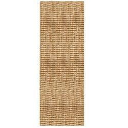 "Sahara Boucle Weave Jute Handwoven Rug (2'6"" x 8')"