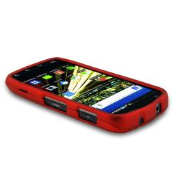 BasAcc Red Snap-on Rubber Coated Case for Samsung SCH-i510/ i520