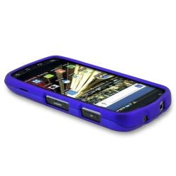 BasAcc Dark Blue Snap-on Rubber Coated Case for Samsung SCH-i510/ i520