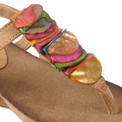 Journee Collection Women's 'Sophia' Embellished T-strap Sandal