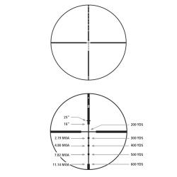 Redfield Revenge 3-9x52mm Accu-Ranger Hunter Reticle Riflescope