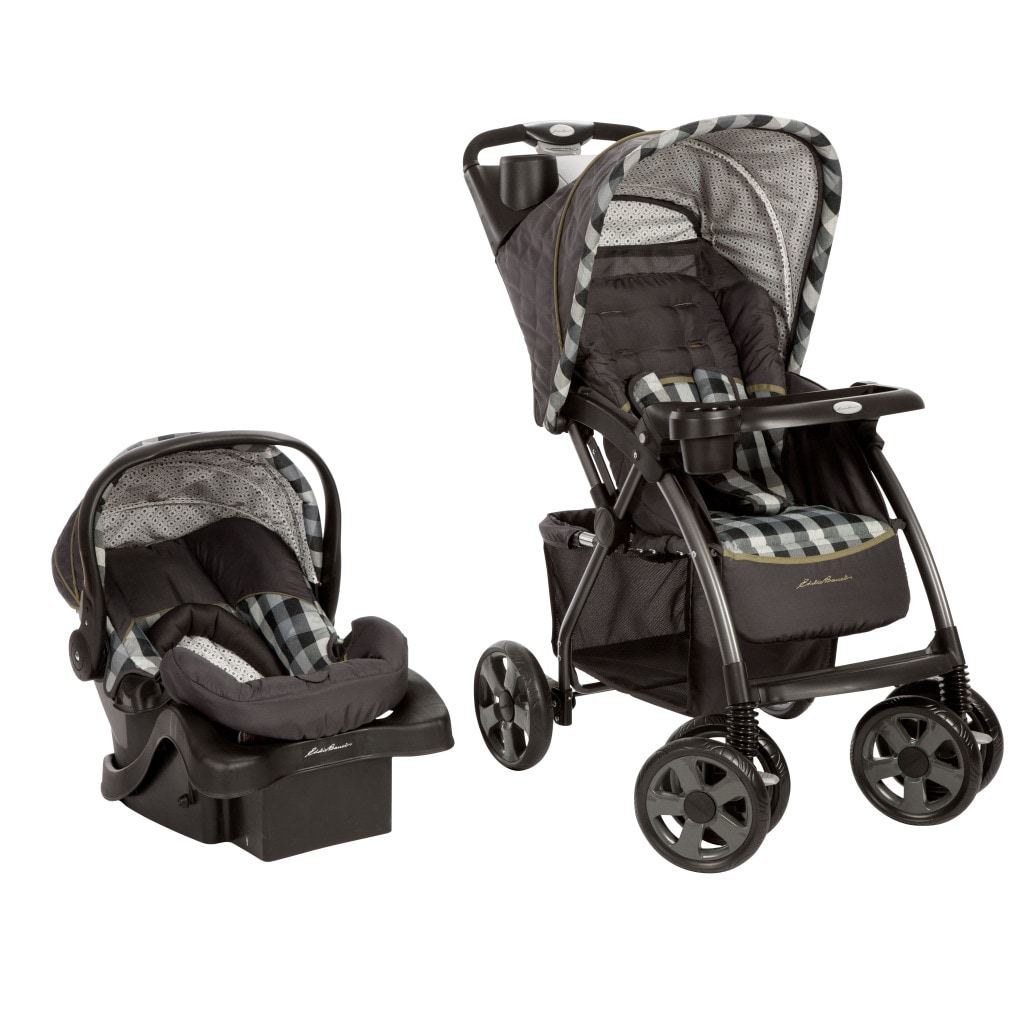 Overstock.com Eddie Bauer Trailmaker Travel System in Evergreen at Sears.com