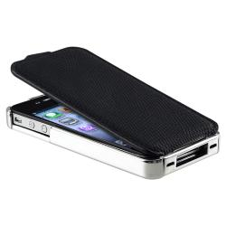 Leather Case/ Screen Protector/ Cable/ Car Charger for Apple iPhone 4S