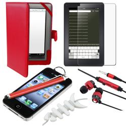 BasAcc Case/ Protector/ Headset/ Stylus for Barnes & Noble Nook Color