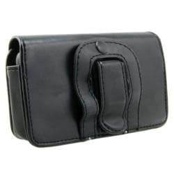 BasAcc Black Horizontal Leather Case for Samsung OMNIA SGH-i900