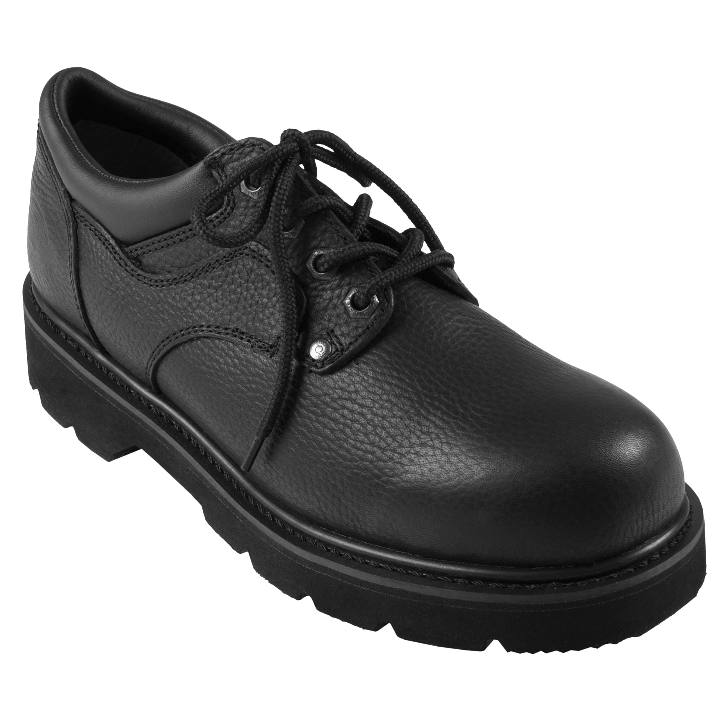 Dickies Men's Oxford Lug Sole Genuine Leather Lace-up Shoe