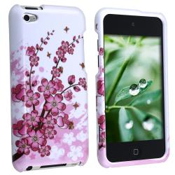 MYBAT Spring Flowers Snap-on Case for Apple iPod Touch 4th Generation