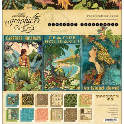 Tropical Travelogue 12 x 12 Double-Sided Paper Pad