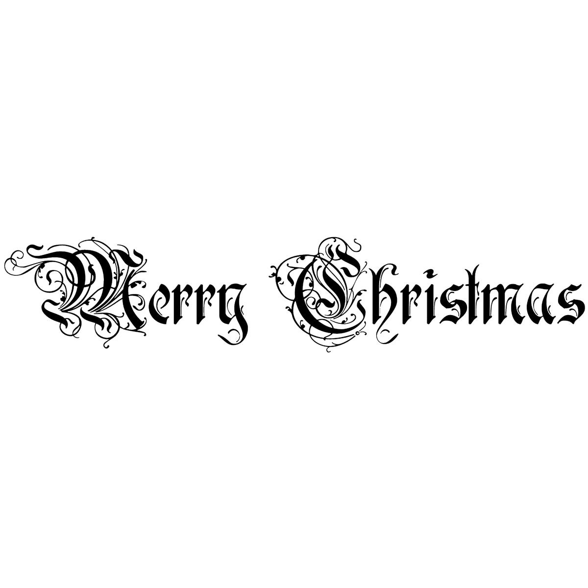 Penny Black 'Ornamental Script' Rubber Stamp