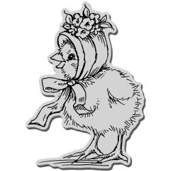 Stampendous 'Posie Bonnet Baby' Cling Rubber Stamp