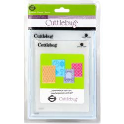 Cuttlebug Cricut Companion 'Timeless' Embossing Folders (Pack of 4)