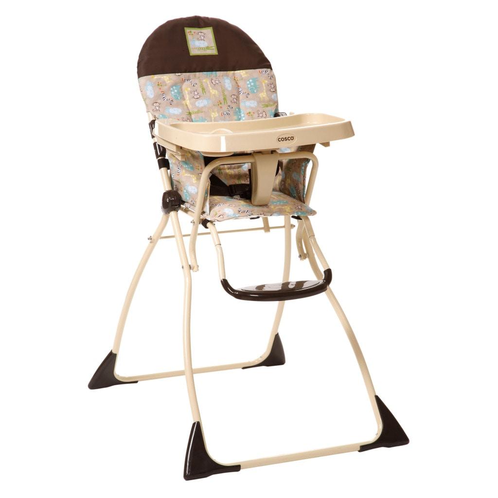 Cosco Flat Fold High Chair in Kontiki