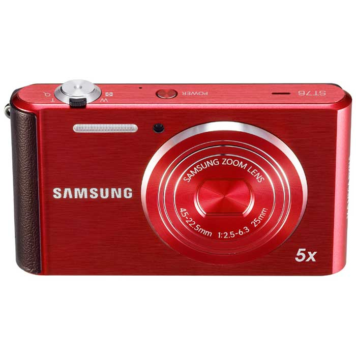Samsung ST76 16MP Red Digital Camera