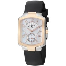 Philip Stein Women's 'Signature' Mother Of Pearl Dial Watch