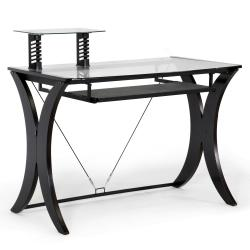 Xavier Dark Brown Modern Computer Desk