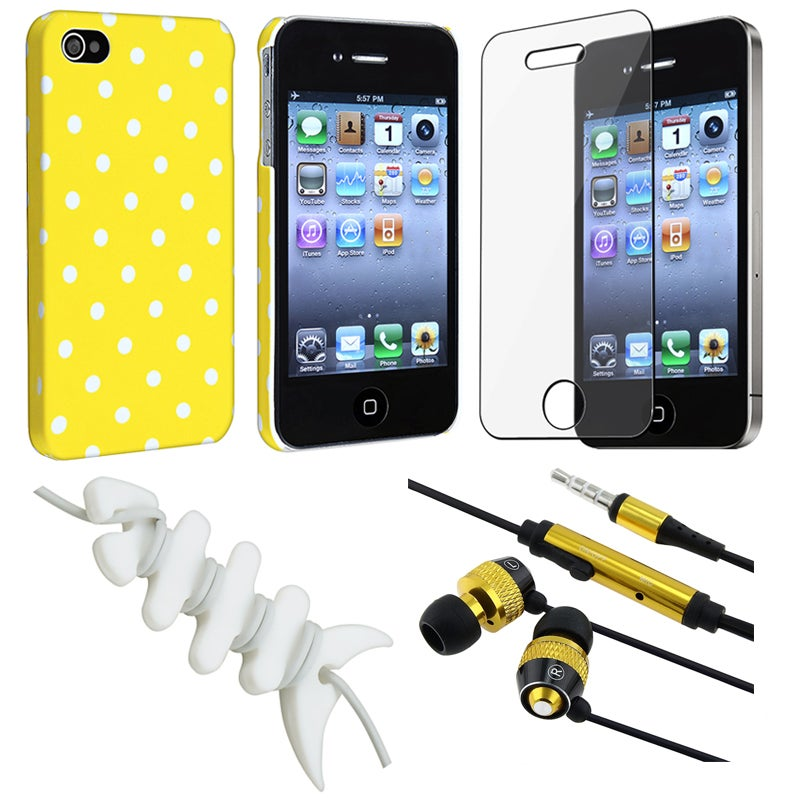 BasAcc Case/ Screen Protector/ Headset/ Wrap for Apple iPhone 4S