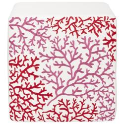 Safavieh Mono Red Forest Cube Ottoman