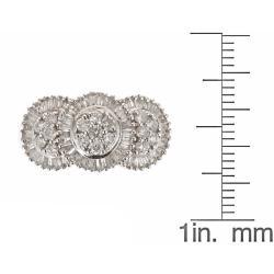 D'Yach 14k White Gold 1ct TDW White Diamond Cocktail Ring (G-H, I1-I2)