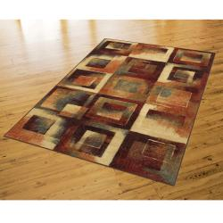 Mohawk Home Mobile Blocks Multi Rug (8' x 10')