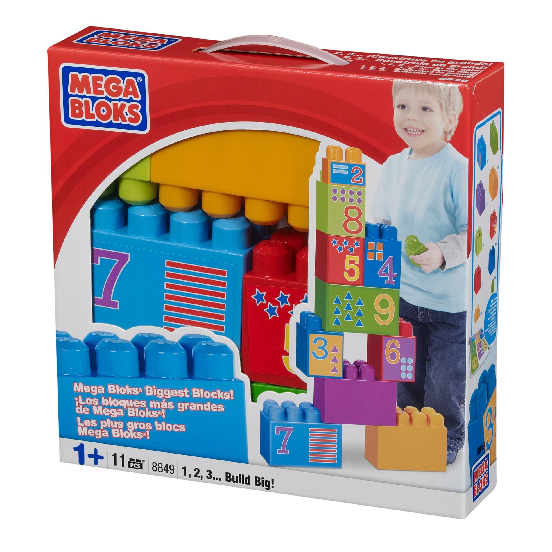 Mega Bloks Build Big 123 Box