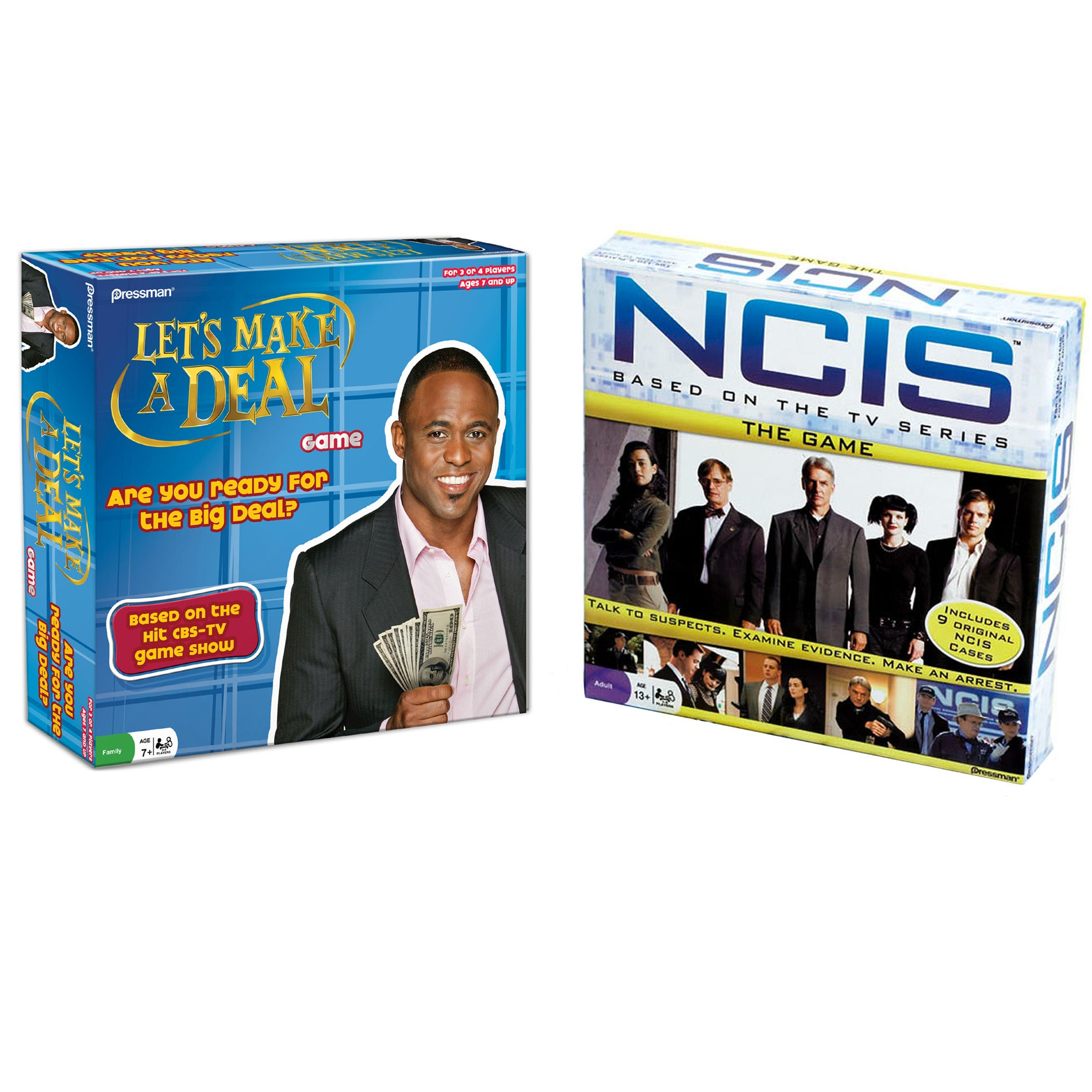 Pressman Games Make a Deal and NCIS Game Set