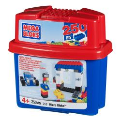 Mega Bloks Microbloks 250-piece Play Tub