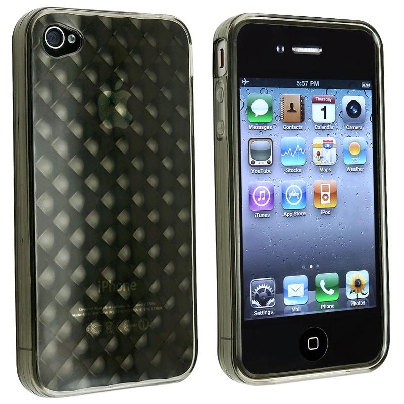 BasAcc Apple iPhone 4 TPU Rubber Skin Case