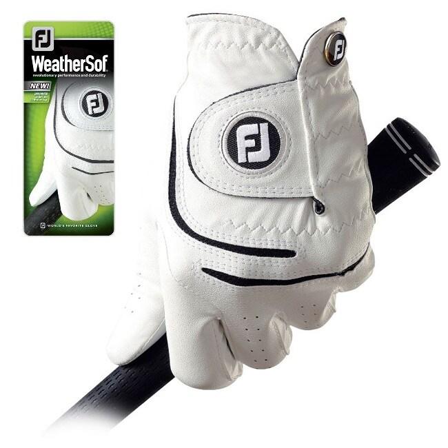 FootJoy Men's WeatherSof Golf Gloves (Pack of 4)