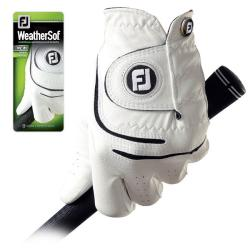 FootJoy Men's WeatherSof Golf Gloves (Pack of 4)