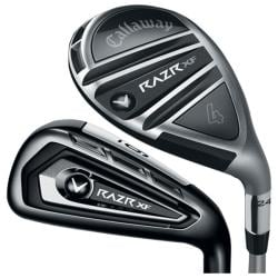 Callaway Men's RAZR XF Hybrid/ Iron Combo Steel Shaft Set