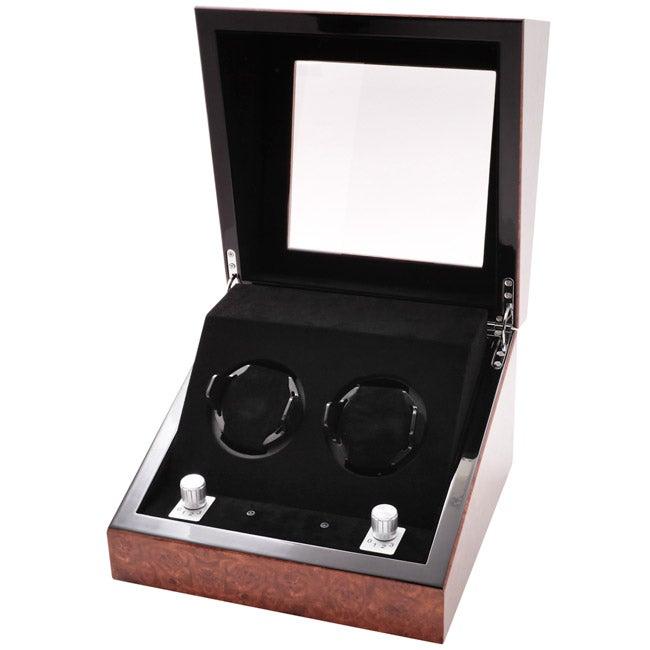 Collectors Multi-Function Chestnut Watch Winder