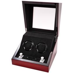 Collectors Multi-Function Mahogany Watch Winder