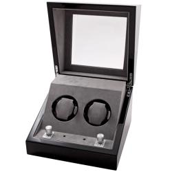 Collectors Multi-Function Black Watch Winder