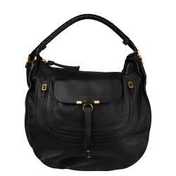 Chloe 'Marcie' Italian Black Leather Hobo Bag
