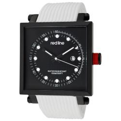 Red Line Men's 'Compressor2' White Silicone Watch
