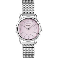 Timex Women's Elevated Dress Watch with Pink Dial