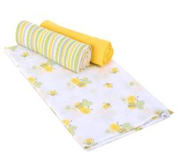 Summer Infant Muslin SwaddleMe Blankets (Pack of 3)