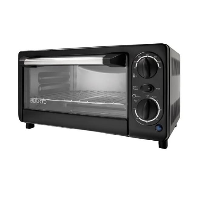 Euro-Pro TO131 4-slice Toaster Oven (Refurbished)