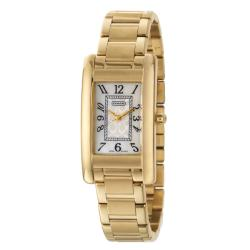 Coach Lexington Women's Mother of Pearl Stainless Steel Yellow Gold Plated Watch