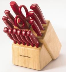Kitchen Aid 16-piece Red Cutlery Set